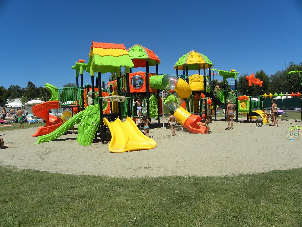 Area giochi blu paradise for Bricoman orbassano orbassano to
